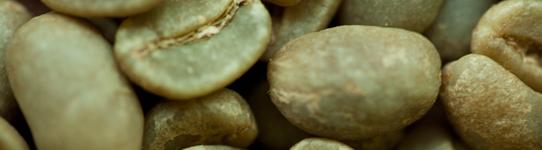 Kaffe - rå bønner