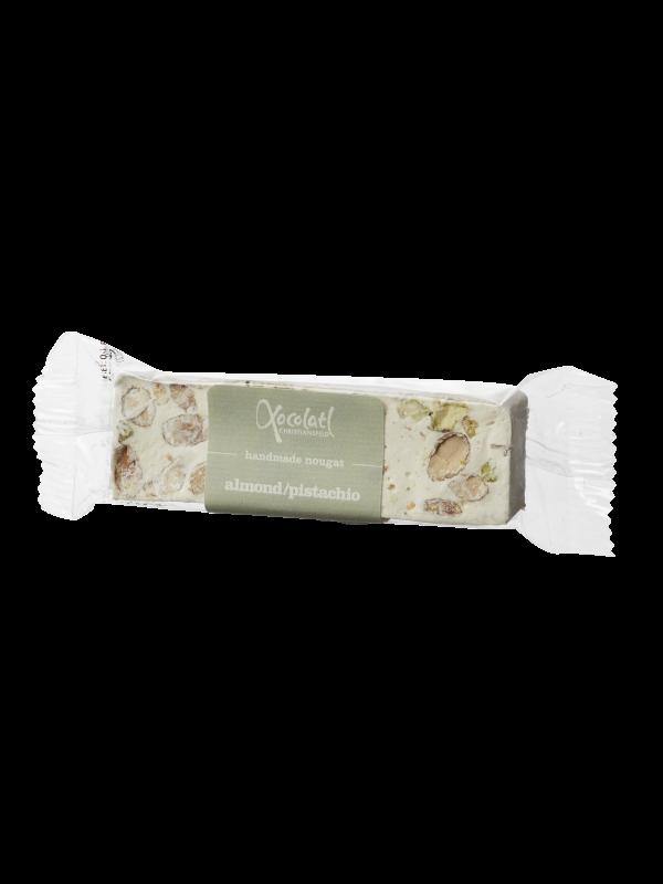 Fransk Nougat - mandler/pistacie