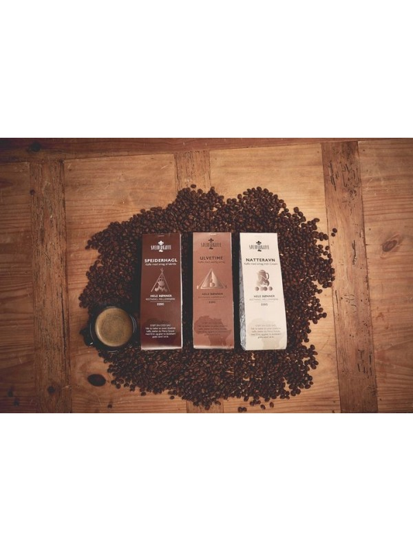 Spejderkaffe, Mixpakke 3 x 225 gr