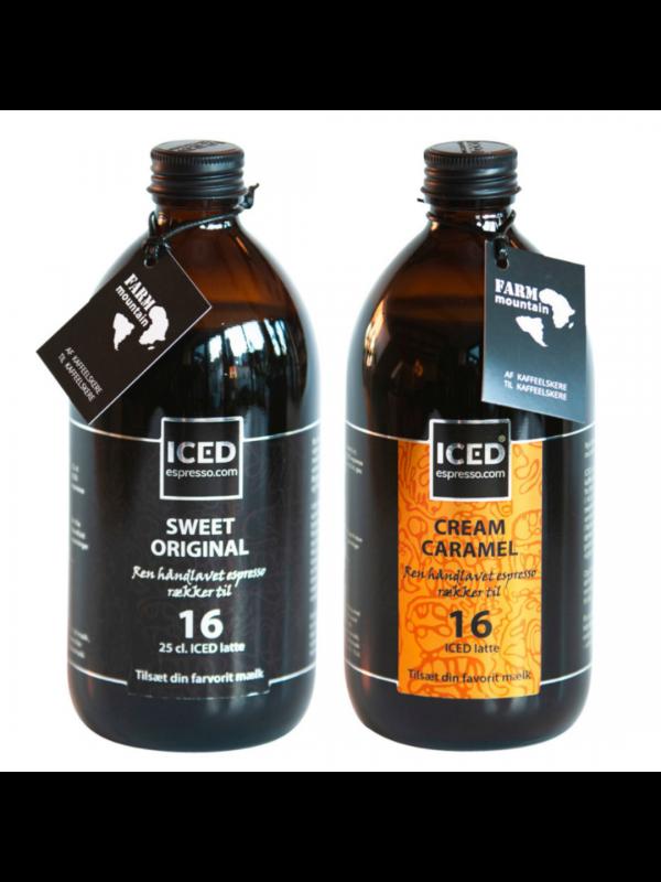 2 fl. valgfri ICED espresso