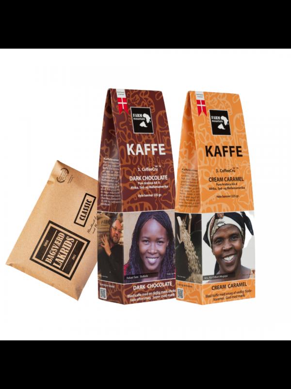 Kaffegave - Aroma kaffe & Lakrids