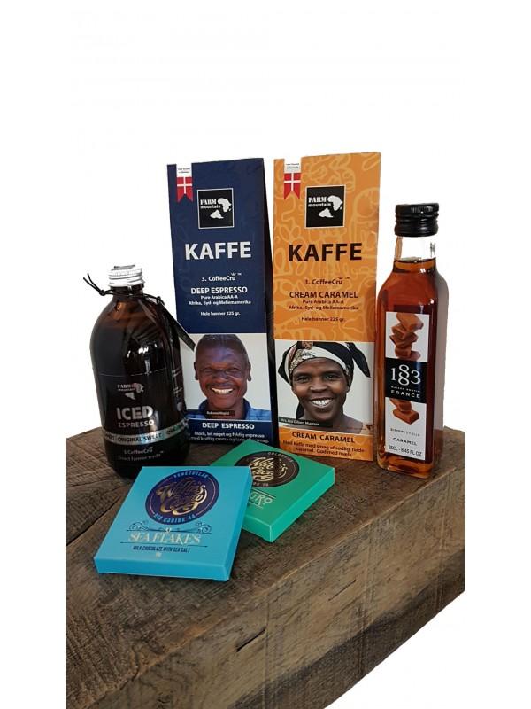 Gavepakke til kaffeelskeren, 300 kr-312