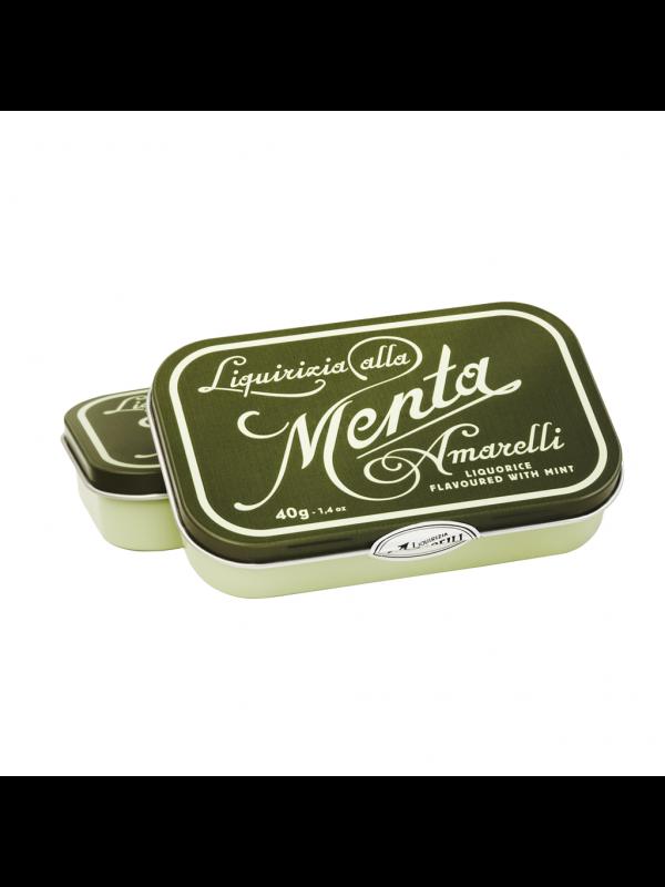 Amarelli Favette - Ren Lakrids m/mint