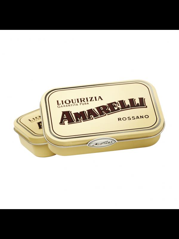 Amarelli Spezzata - Ren Lakrids, gul æske