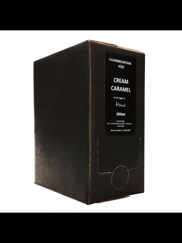 ICED Espresso Cream Caramel, Bag-In-Box BIB, 3 liter, 96 shots