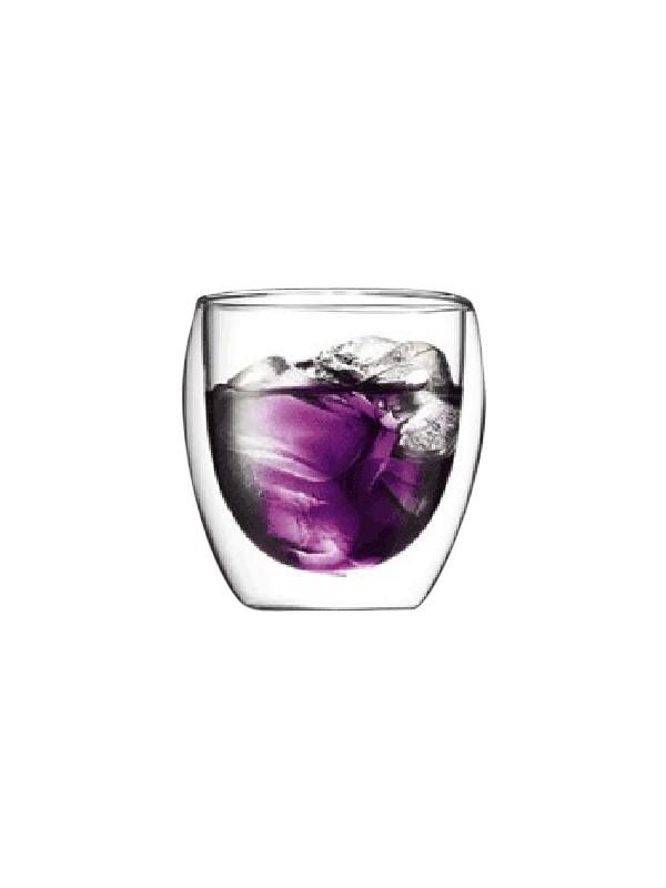 Bodum Pavina 2 stk. te/kaffeglas 0.25 liter