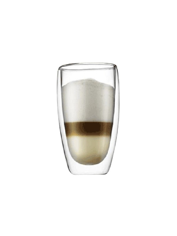 Bodum Pavina 2 stk. te/kaffeglas 0.45 liter