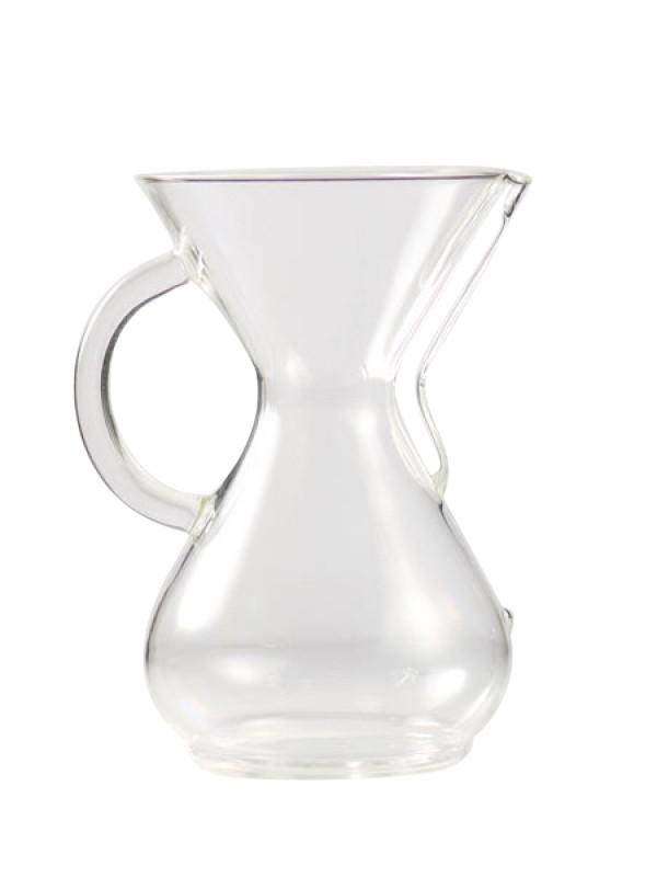 Chemex 6-kops m/glashåndtag