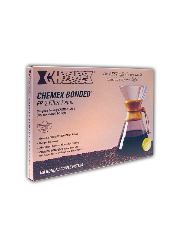 Chemex 3-kops filtre, 100 stk