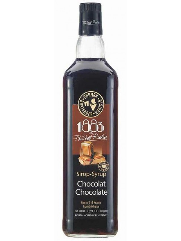 1883 Chokolade rørsukkersirup 100cl.