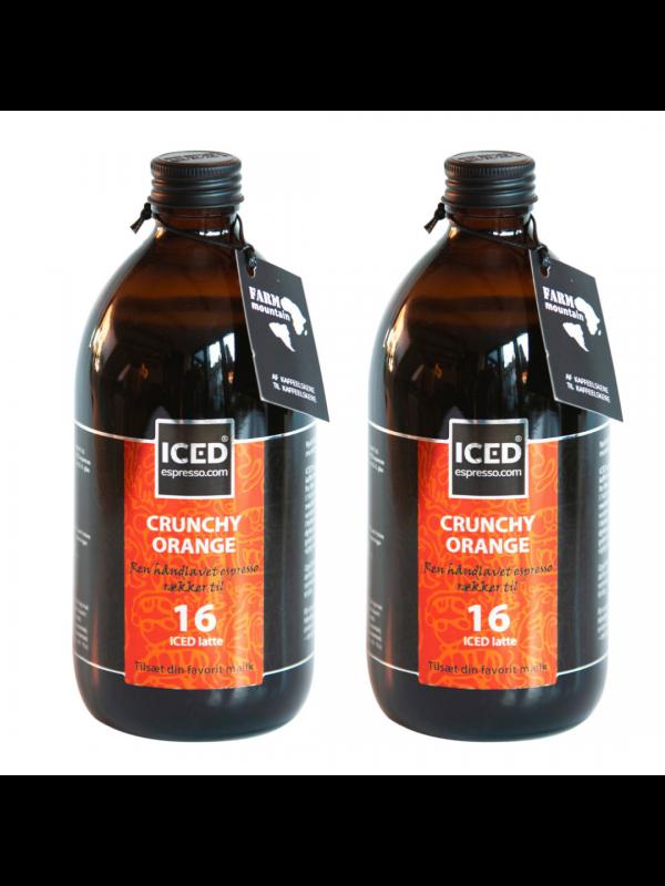 2 x ICED espresso Crunchy Orange