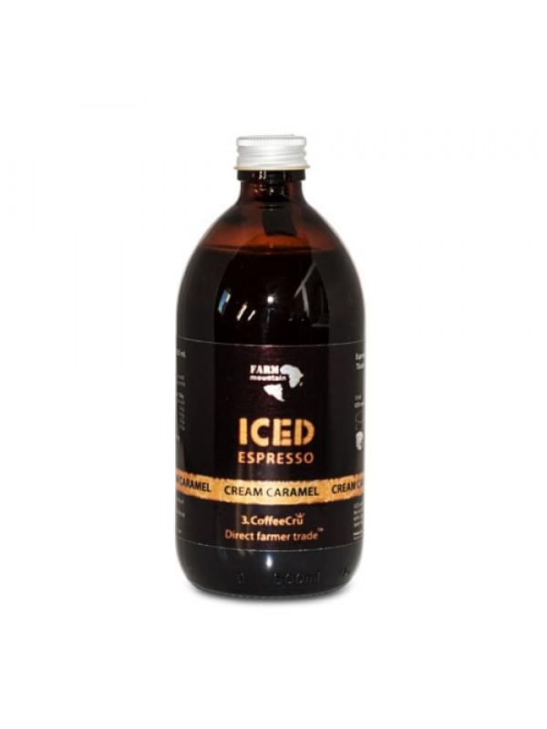 Iced Espresso Cream Caramel, 16 shots - ½ liter
