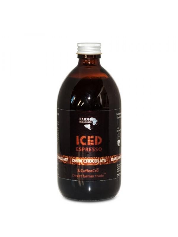 Iced Espresso Dark Chocolate, 16 shots - ½ liter