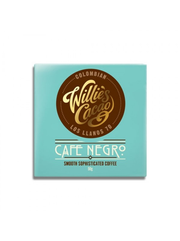 Willies Cacao Cafe Negro 70%, 50 gr.-37