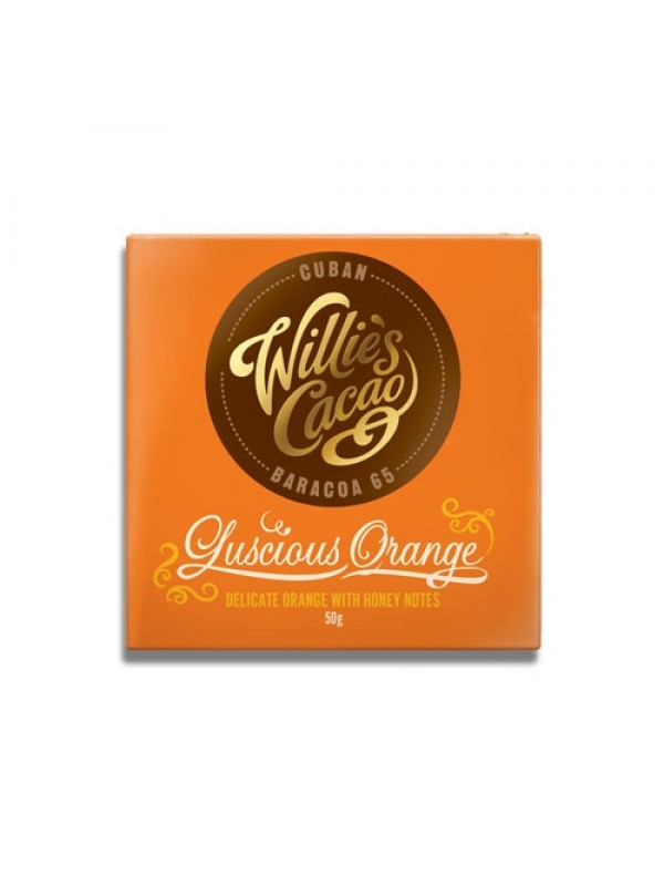 Willies Cacao Luscious Orange 65%, 50 gr.-38