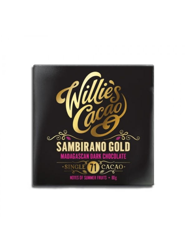 Willies Cacao Sambirano Gold 71%, 50 gr.-314