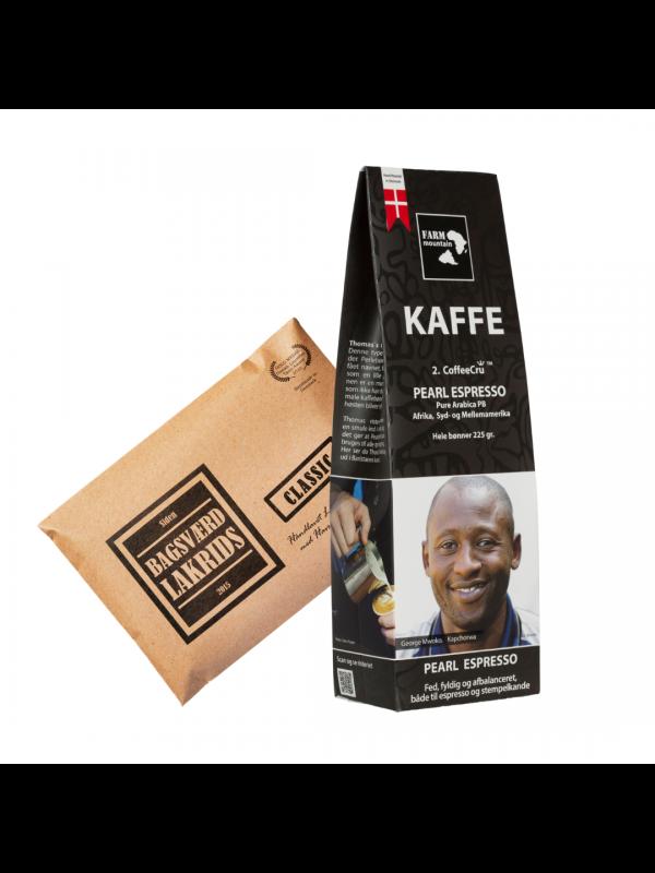 Kaffegave med Lakrids