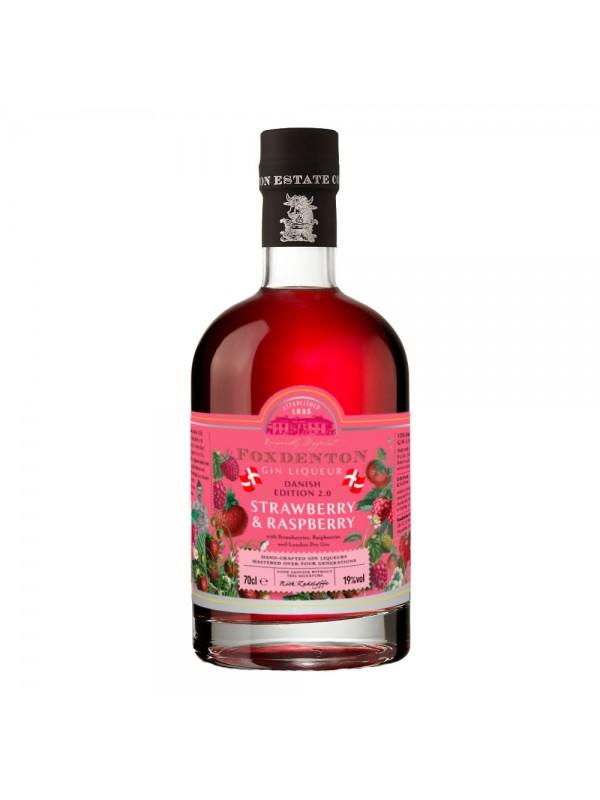 Foxdenton - Strawberry/Raspberry Gin Likør