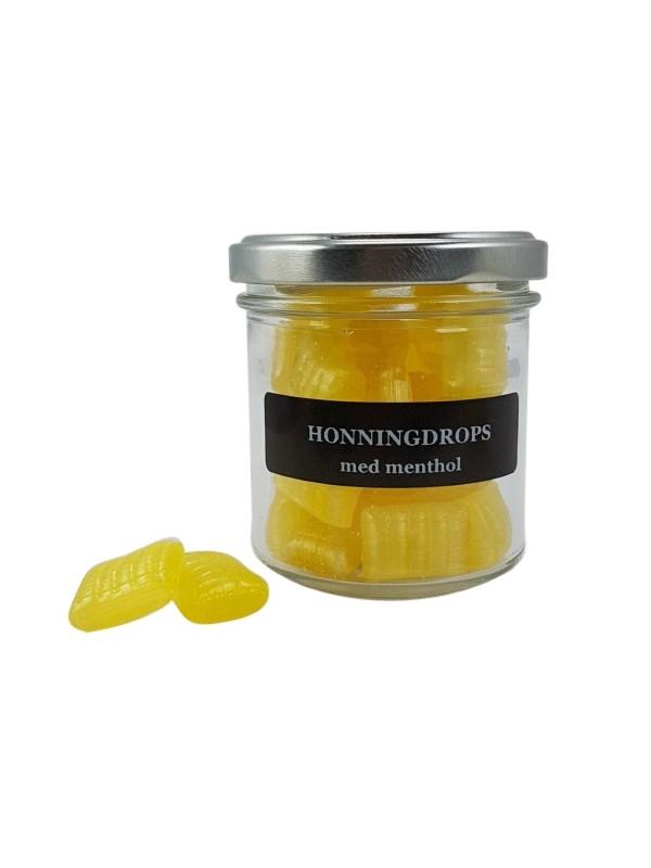 Honningdrops med menthol - 100 gr.