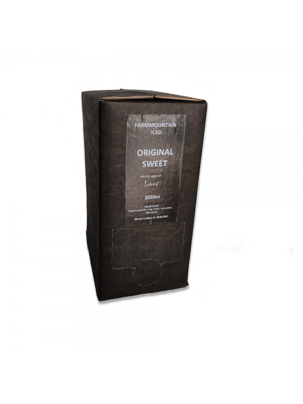 ICED Espresso Dark Chocolate, Bag-In-Box BIB, 3 liter, 96 shots