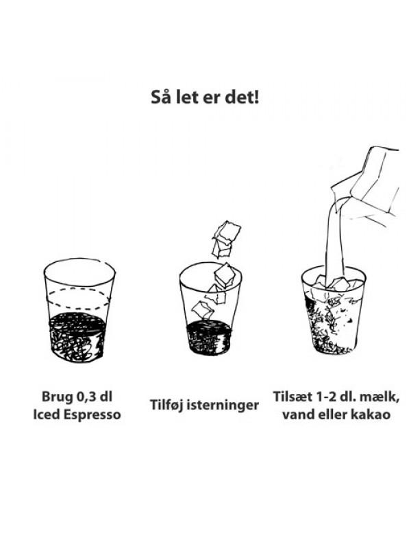 Iced Espresso Mint Chocolate, 16 shots ½ liter OBS! Der er i øjeblikket 7 dages levering på iskaffen-08