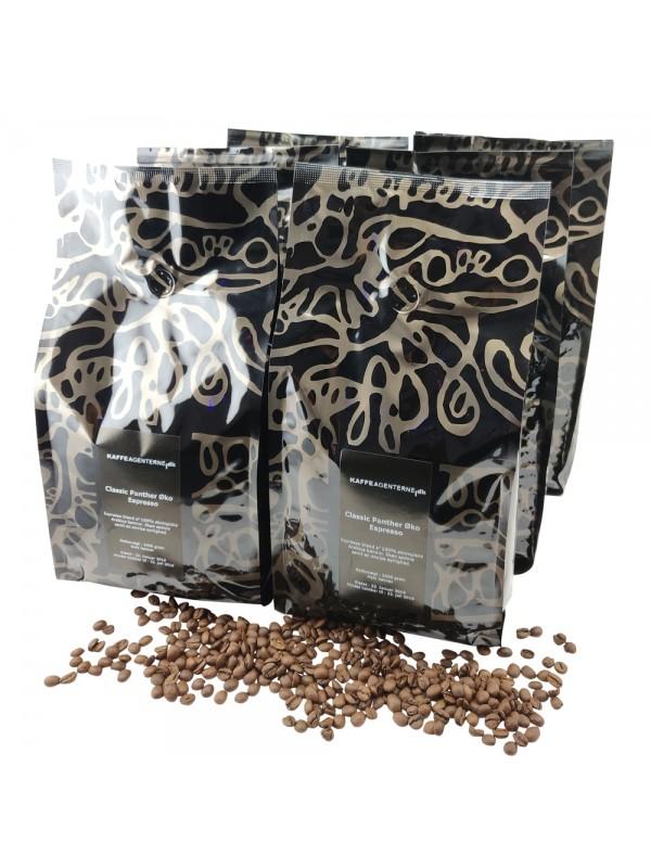 Classic Panther økologisk Espresso 12 kg, hele bønner