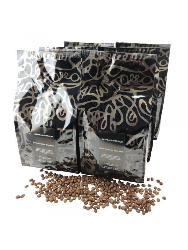 Black Panther Espresso 24 kg, hele bønner