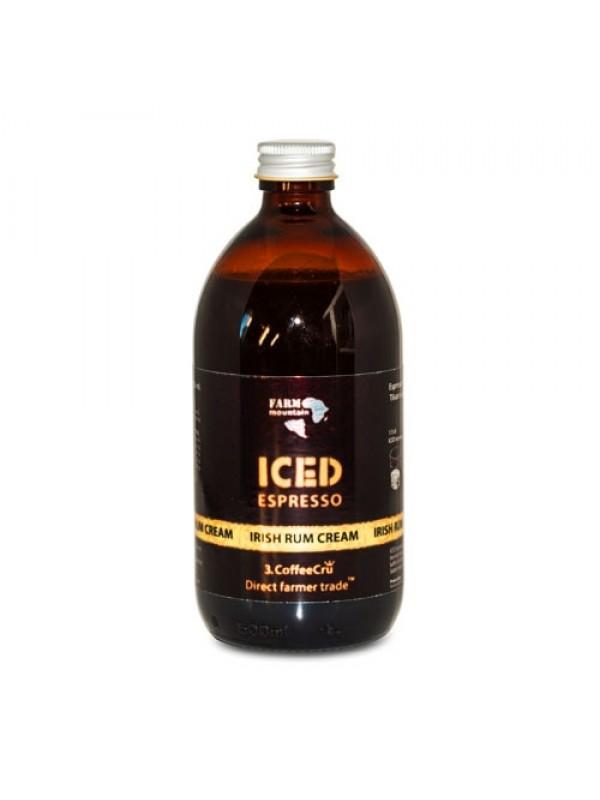 Iced Espresso Irish Rum Cream, 16 shots - ½ liter