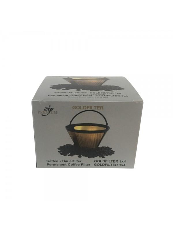 ZIP guldfilter til kaffemaskinen str. 4-38