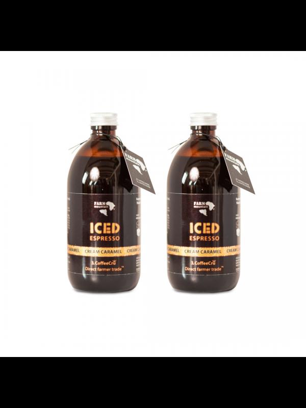 2 x ICED espresso Cream Caramel