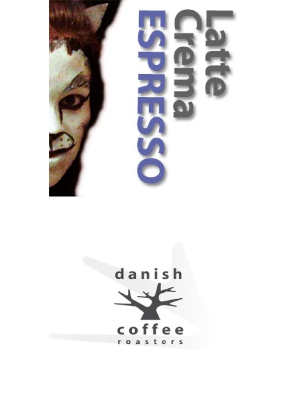 Latte Crema Espresso - rå bønner