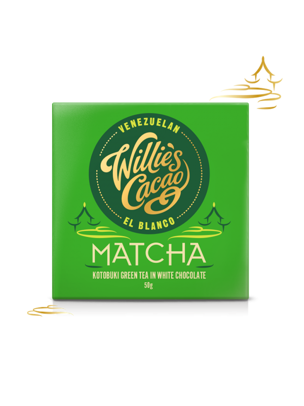 Willies Cacao Matcha, 50 gr.-315