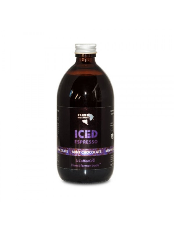 Iced Espresso Mint Chocolate, 16 shots - ½ liter