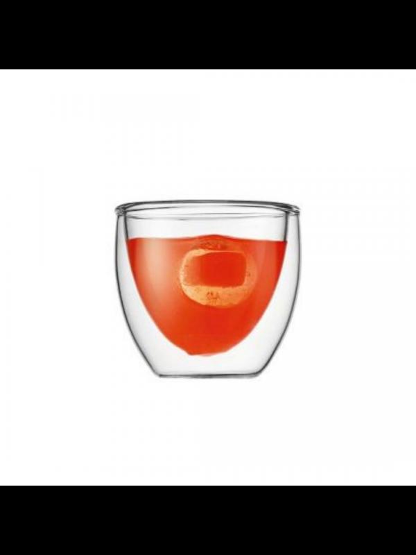 Bodum Pavina 2 stk. espressoglas 0.08 liter