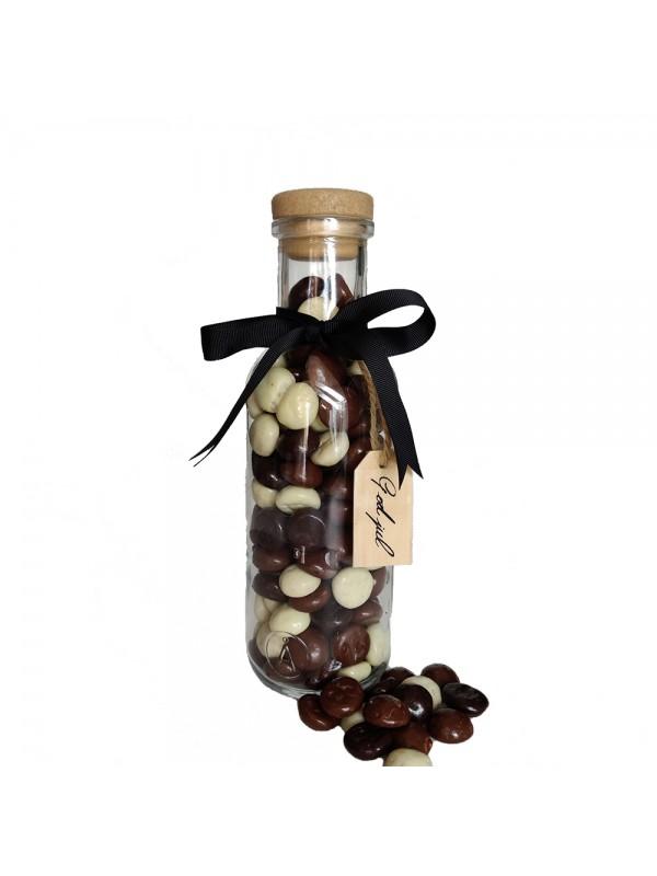 Chokoladepebernødder i flaske, 490 gr.