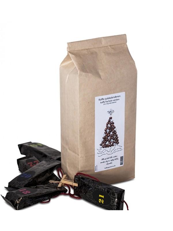 Kaffe-julekalender 2018, 24 x kaffe UDSOLGT-36