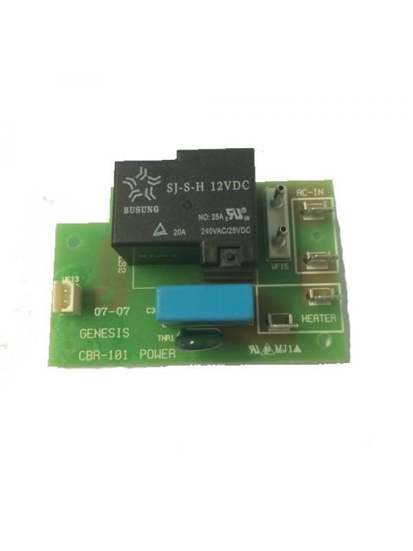 GeneCafe strømforsyningsprint