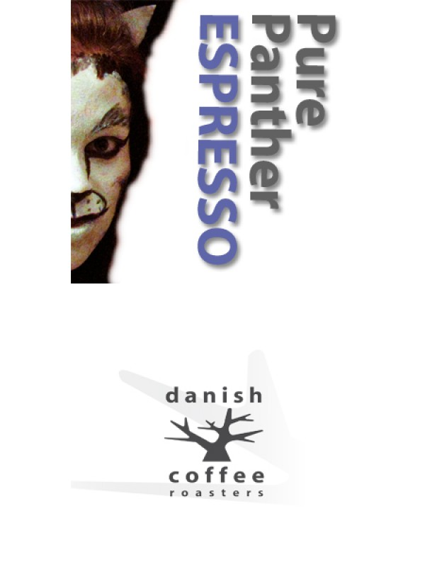Pure Panther Espresso, ristet