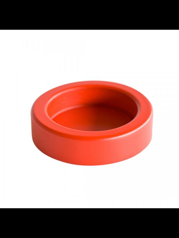 KA stamperholder - rødbejdset