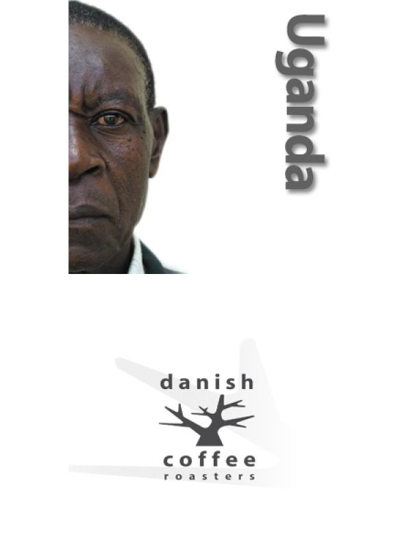 Månedens Kaffe - Uganda Farm Mountain EE, rå bønner