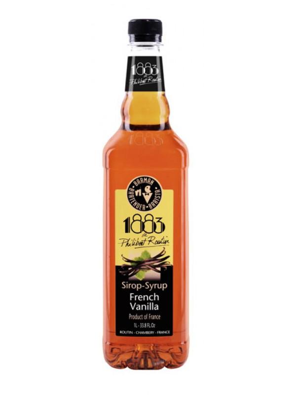 1883 Vanilje rørsukkersirup 100cl.
