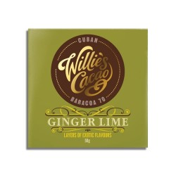 Willies Cacao Ginger Lime 70%, 50 gr.-20
