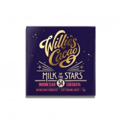 Willies Cacao Milk of the Stars 54%, 50 gr.-20