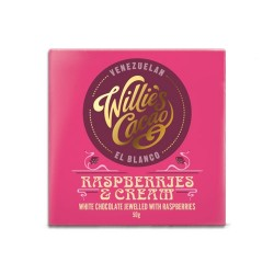 Willies Cacao Rasperries and Cream, 50 gr.-20