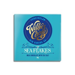 Willies Cacao Sea Flakes 44%, 50 gr.-20