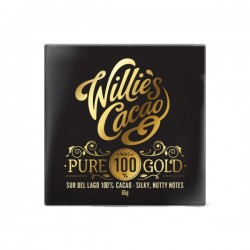 Willies Cacao Pure Gold 100%, 40 gr.-20