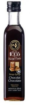 1883 Chokolade rørsukkersirup 25cl.