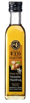 1883 Hasselnød rørsukkersirup 25cl.