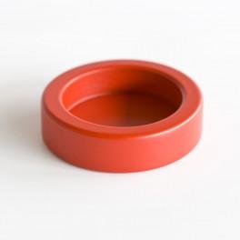KA stamperholder rødbejdset