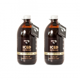 2 x ICED espresso Irish Rum Cream-20